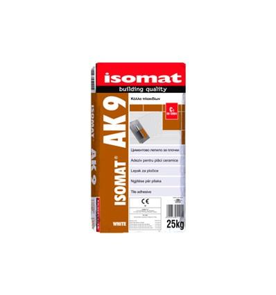 isomat-ak-9-25-kg-λευκη