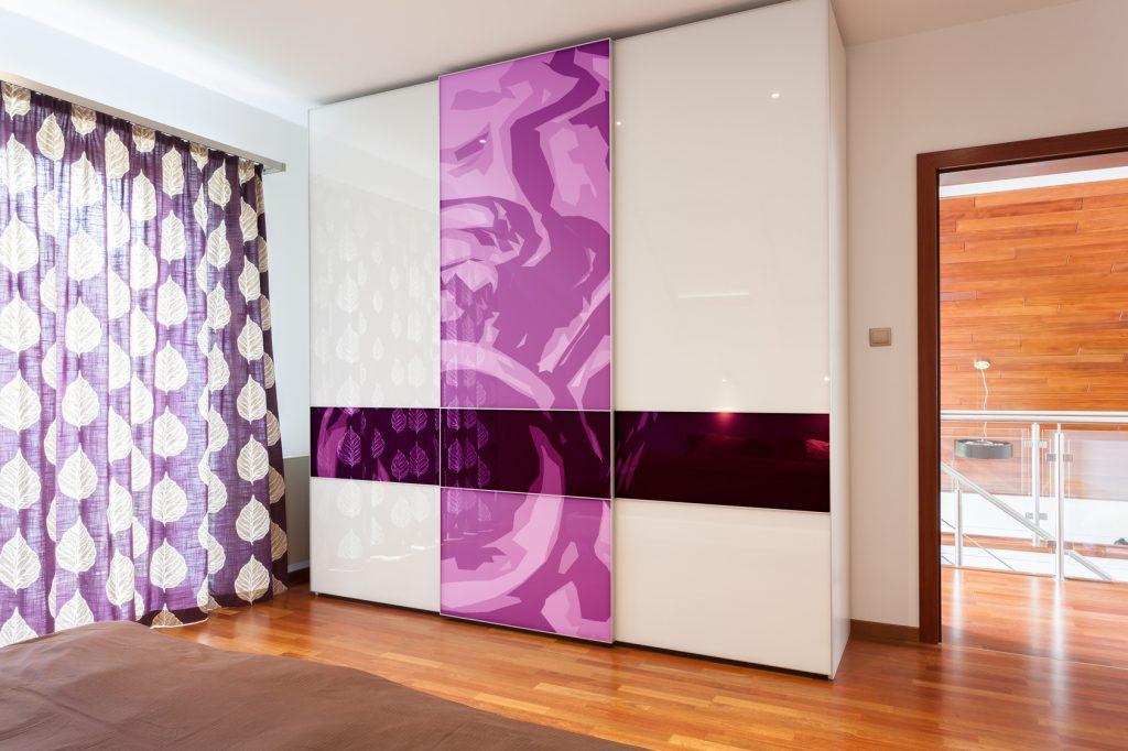 Modern and luxury wardbrobe